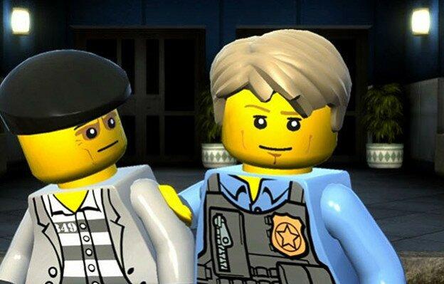 Игры Лего Полиция