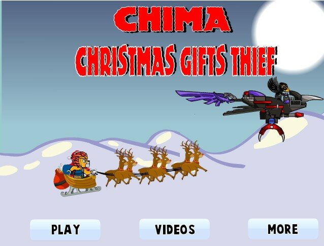 Чима Рожденственский паркур
